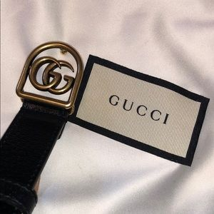 Gucci Accessories - Gucci Caged GG Marmont Belt